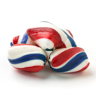 Patriotic Mint Twists Hard Candy