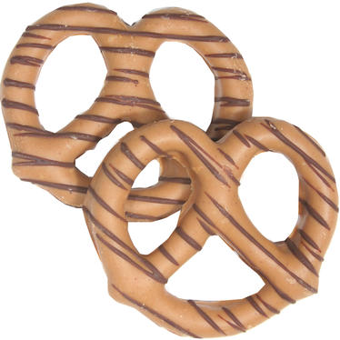 Stringed Peanut Chocolate Covered Pretzels -10CT