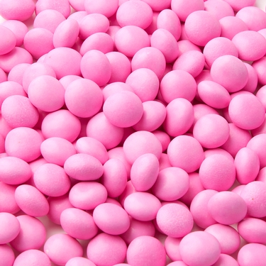 Gourmet Chocolate Covered Mints - Hot Pink