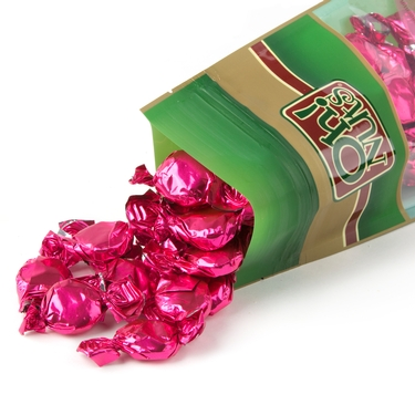 Hot Pink Fruit Flashers Hard Candy - Strawberry