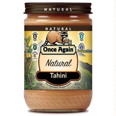 Natural Roasted Sesame Tahini (No Salt Added)