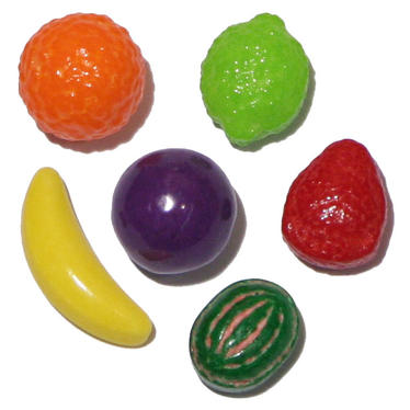Nitwits Fruit Shapes Coated Candy