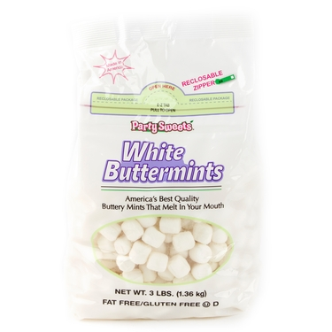White Buttermints - 3 LB Bag