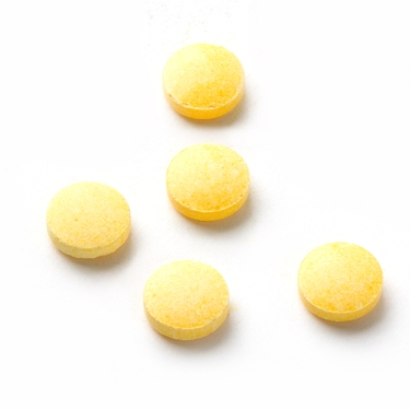 Yellow Sweet Tarts Candy Tablets - Banana