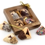 4-Pc. Chocolate Dipped Hamantash Gold Gift Box