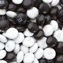 Black & White M&M's Chocolate Candy