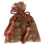 Brown Mesh Party Bags - 12 pk