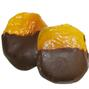 Glazed Apricot Dipped in Dark Chocolate
