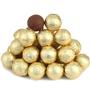 Gold Foiled Milk Chocolate Balls