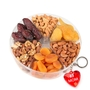 Mothers Day 6-Section Dried Fruit & Nut Tray