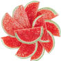 Watermelon Fruit Slices - 5LB Box