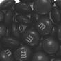Black M&M's Chocolate Candies