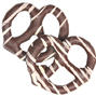 Stringed Chocolate Covered Pretzels - 10CT
