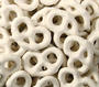 Cinnamon Yogurt Coated Pretzels