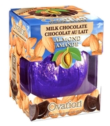 Milk Chocolate Almond Break-A-Part Ball