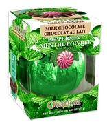 Milk Chocolate Peppermint Break-A-Part Ball