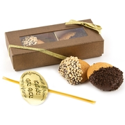 2-Pc. Chocolate Dipped Honey Cookie Gift Box