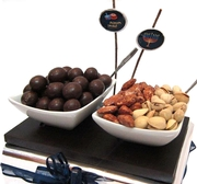 Chanukah Contemporary Condement Tray (Israel Only)