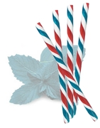 Patriotic Peppermint Candy Sticks