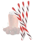 Cherry Cola Candy Sticks