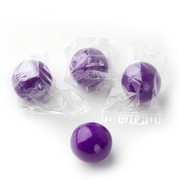 Wrapped Purple Gumballs - 3 LB Bag