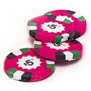 Milk Chocolate $5 Poker Chips