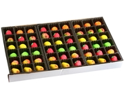 54-Piece Assorted Fruit Marzipan Gift Box