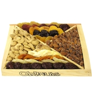 Nuts & Dried Fruit Wooden Gift Tray
