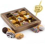 9-Pc. Chocolate Dipped Honey Cookie Gift Box