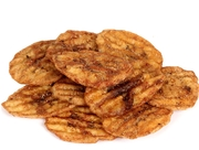 Caramelized BBQ Banana Chips