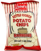 Kettle Cooked Barbecue Potato Chips - 72CT Case