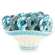 Baby Boy Chocolate Pretzel Basket
