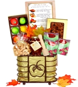 Alluring Apple Gift Basket