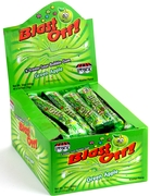 Blast Off! Extreme Sour Bubble Gum Rope - Apple - 48CT Box