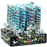 Blue & Brown Unicorn Pops Celebrations - 18CT Box