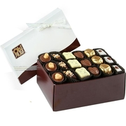 Non-Dairy Chocolate Truffle Gift Box - 18 Pc.