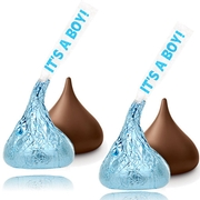 It's a Boy! Hershey's Milk Chocolates Kisses - 7 oz Bag