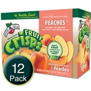 Freeze-Dried Peach Fruit Crisps - 12CT Box