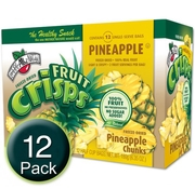Freeze-Dried Pineapple Chunks Fruit Crisps - 12CT Box