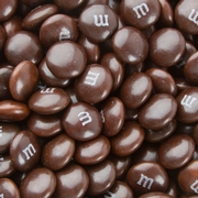 Brown M&M's Chocolate Candies