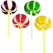Starlight Jumbo Lollipops - Unwrapped