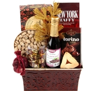 Burgundy Beauty - Purim Basket