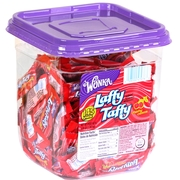 Cherry Laffy Taffy Chews - 145CT Tub