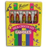 Candle Shaped Milk Chocolate - 48PK Counter Display