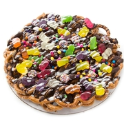 Chocolate Pretzel Pie With Gummy Bears - 12