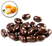 Jelly Belly Chocolate Dips Jelly Beans - Orange
