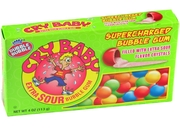 Cry Baby Extra Sour Bubble Gum Theater Box - 24CT Case