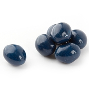 Dark Blue Chocolate Covered Almonds