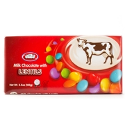 Elite Milk Chocolate with Lentils - 12PK