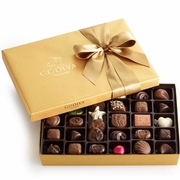 Gold Ballotin 36-Pc. Chocolate Truffle Gift Box